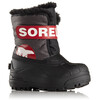 Sorel Children Snow Commander Boots Dark Grey, Bright Red
